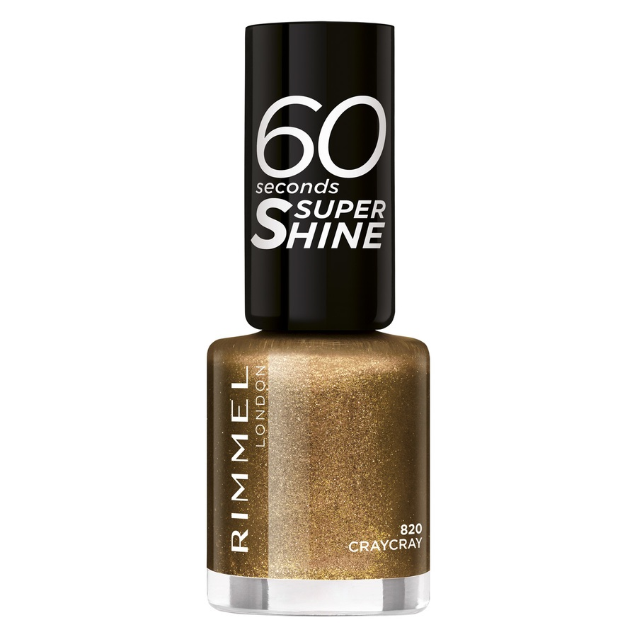 Rimmel London 60 Seconds Super Shine, 820 (8 ml)