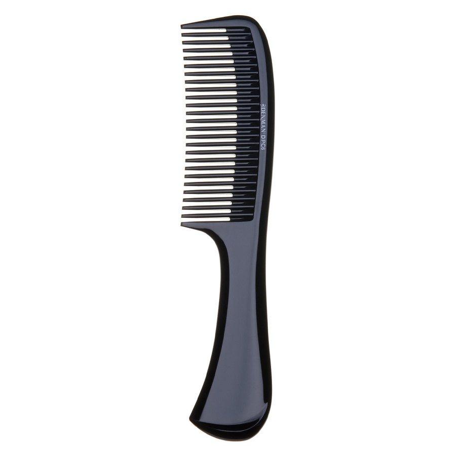 Denman DPC6 Rake Comb, Black