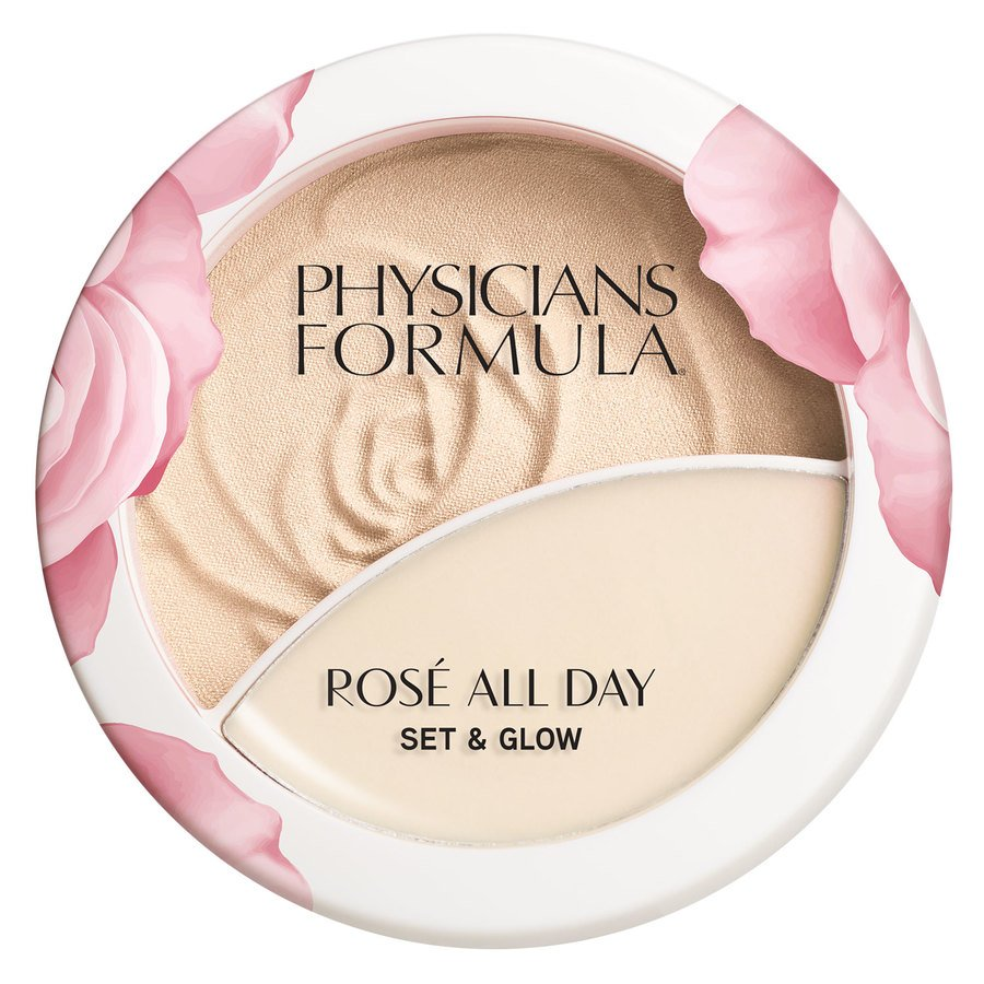 Physicians Formula Rosé All Day Set & Glow Powder, Luminous Light (10,2 g)