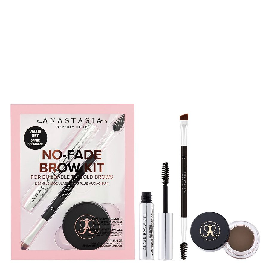 Anastasia Beverly Hills No-Fade Brow Kit, Medium Brown