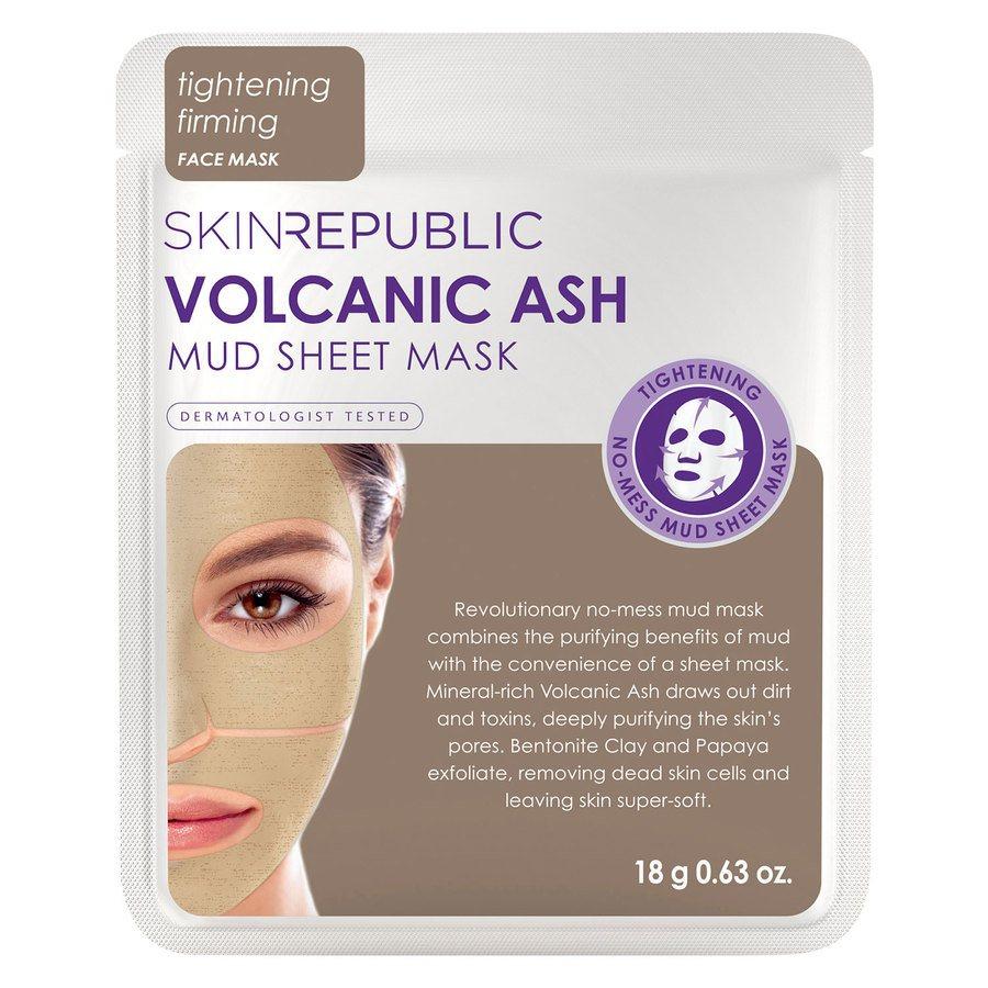 Skin Republic Volcanic Ash Mud Sheet Face Mask (18 g)