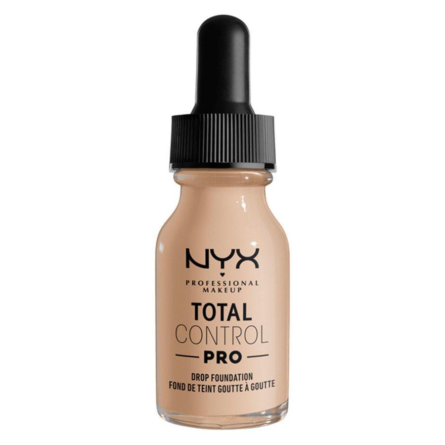 NYX Professional Makeup Total Control Pro Drop Foundation, Alabaster 13 ml