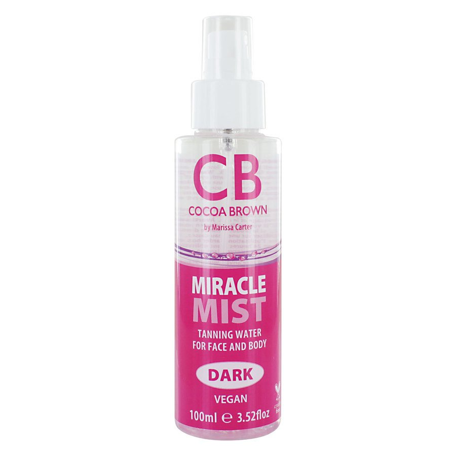 Cocoa Brown Miracle Mist Tanning Water, Dark (100 ml)
