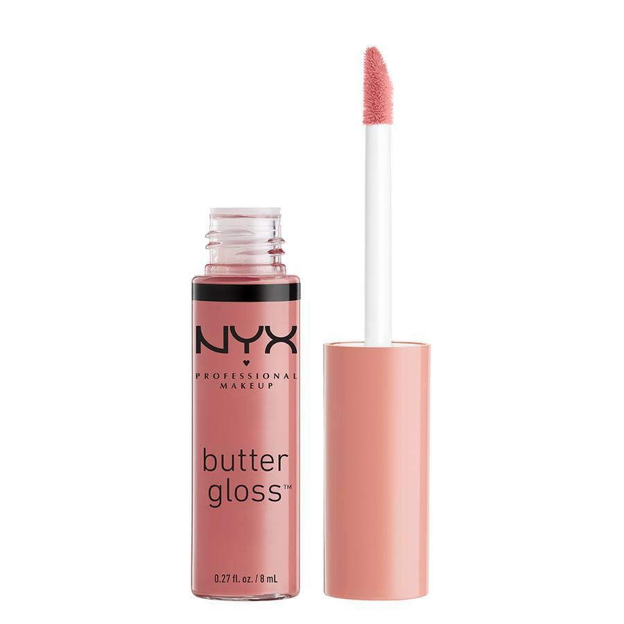 NYX Professional Makeup Butter Gloss Lipgloss (8 ml), Tiramisu