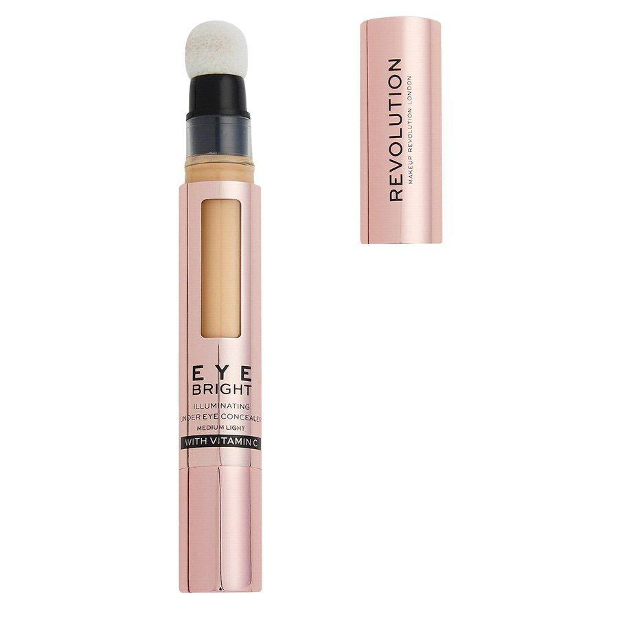 Revolution Beauty Makeup Revolution Eye Bright Illuminating Under Eye Concealer, Medium Light 2,9ml