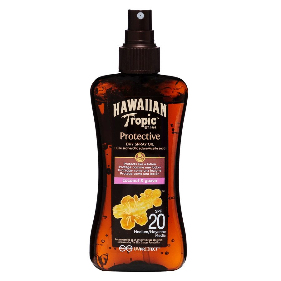 Hawaiian Tropic Protective Dry Oil Spray LSF20 (200 ml)