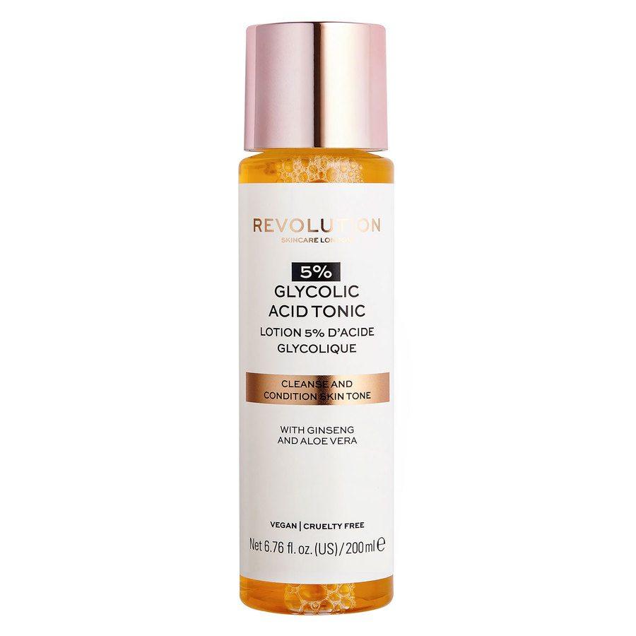 Revolution Skincare 5% Glycolic Acid Toner 200ml