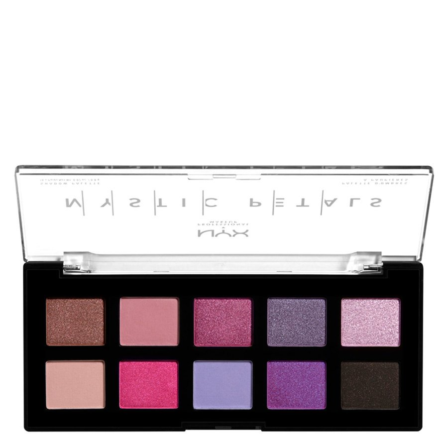 NYX Professional Makeup Mystic Petals Shadow Palette, Midnight Orchid (10x0,8g)