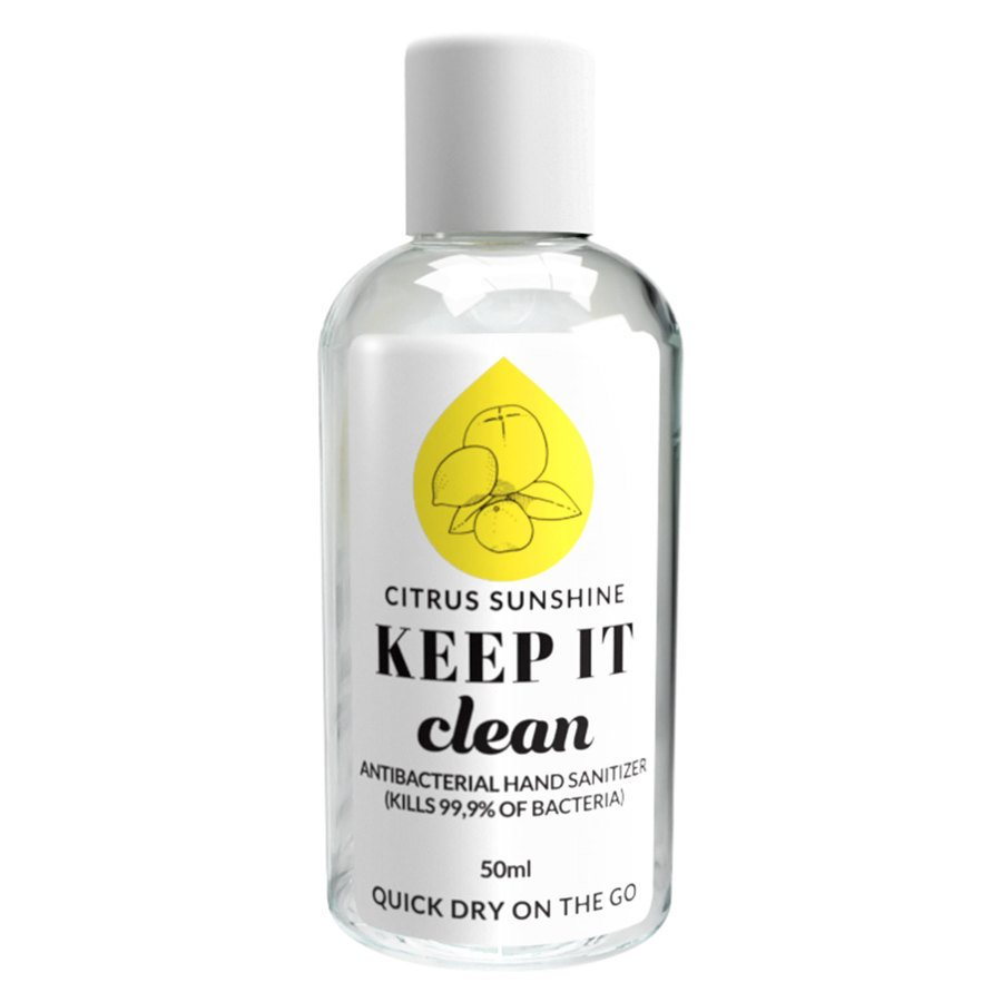 Keep It Clean Citrus Sunshine Antibacterial Hand Sanitizer (50 ml)