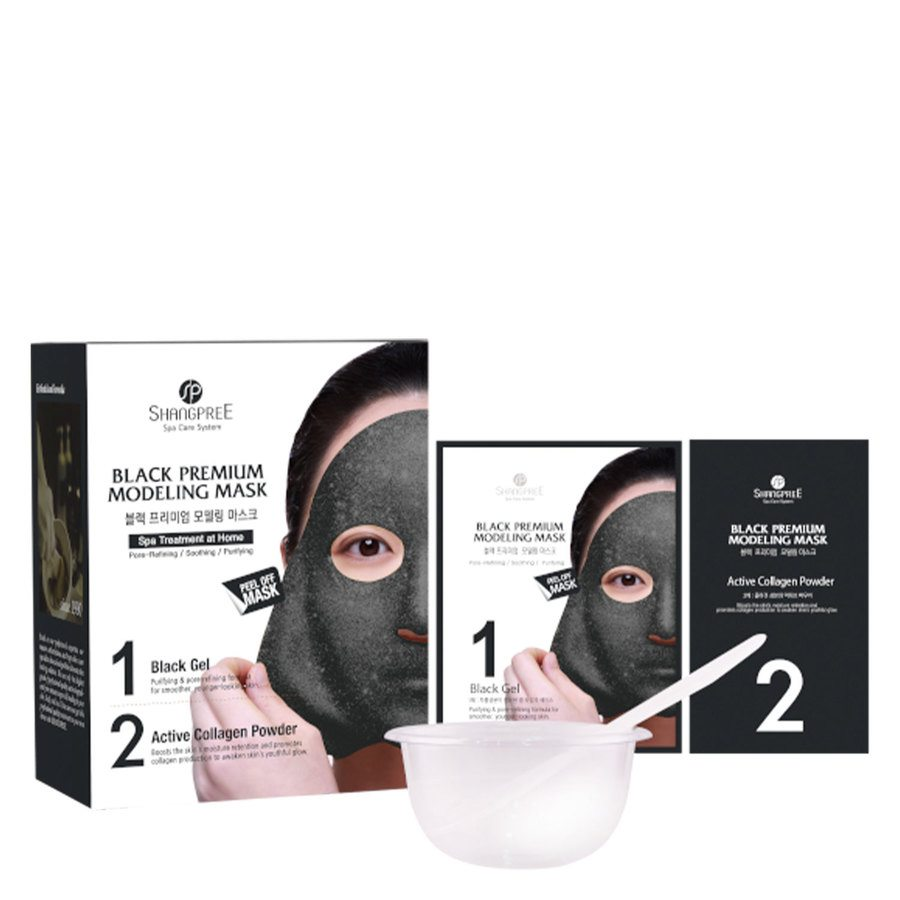 Shangpree Black Premium Modeling Mask (50ml)