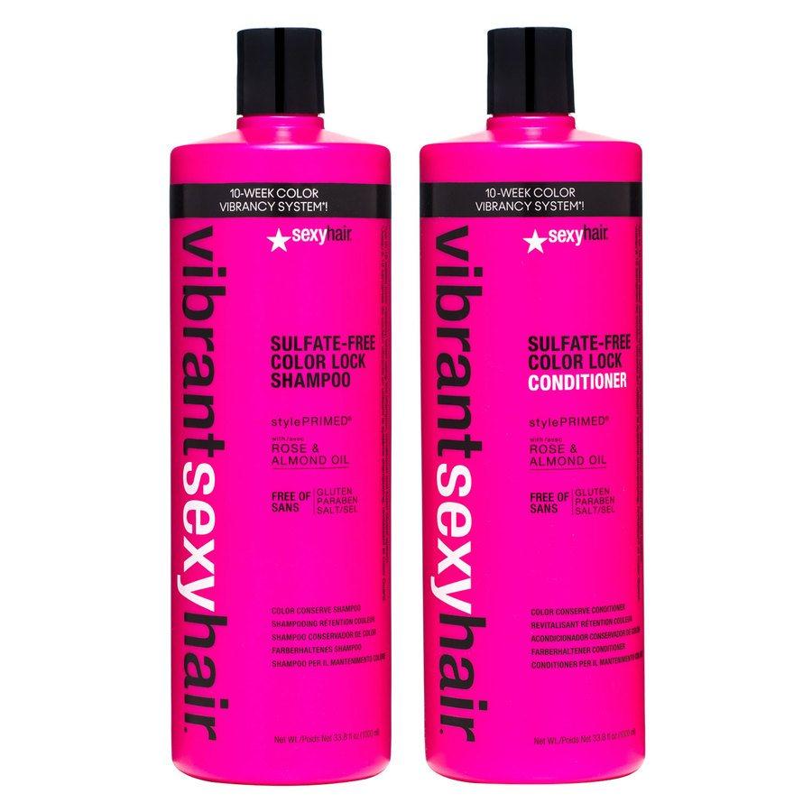 Vibrant Sexy Hair Color Lock Shampoo & Conditioner 2 x 1 000 ml