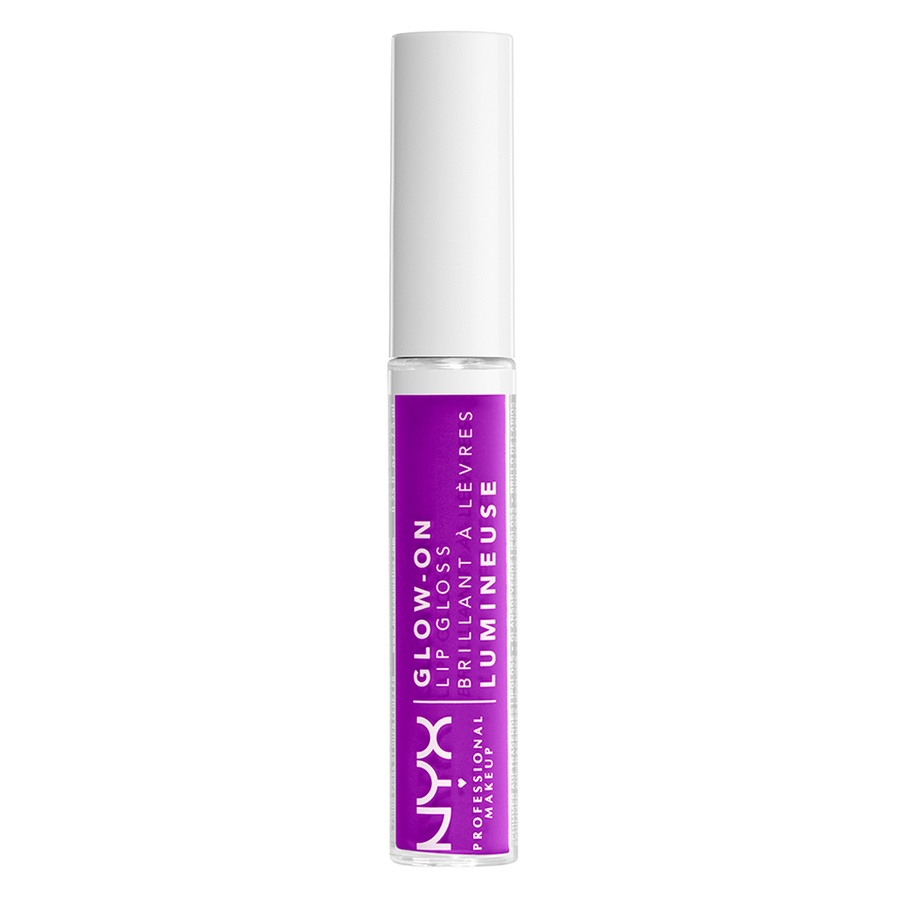NYX Professional Makeup Glow-On Lip Gloss, Lilac Vibes (7,5 ml)