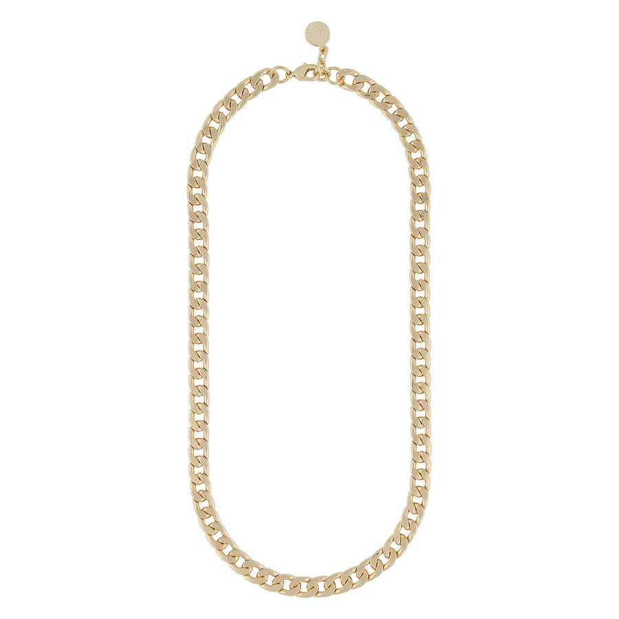 Snö Of Sweden Chase Mario Medium Necklace, Plain Gold (42 cm)