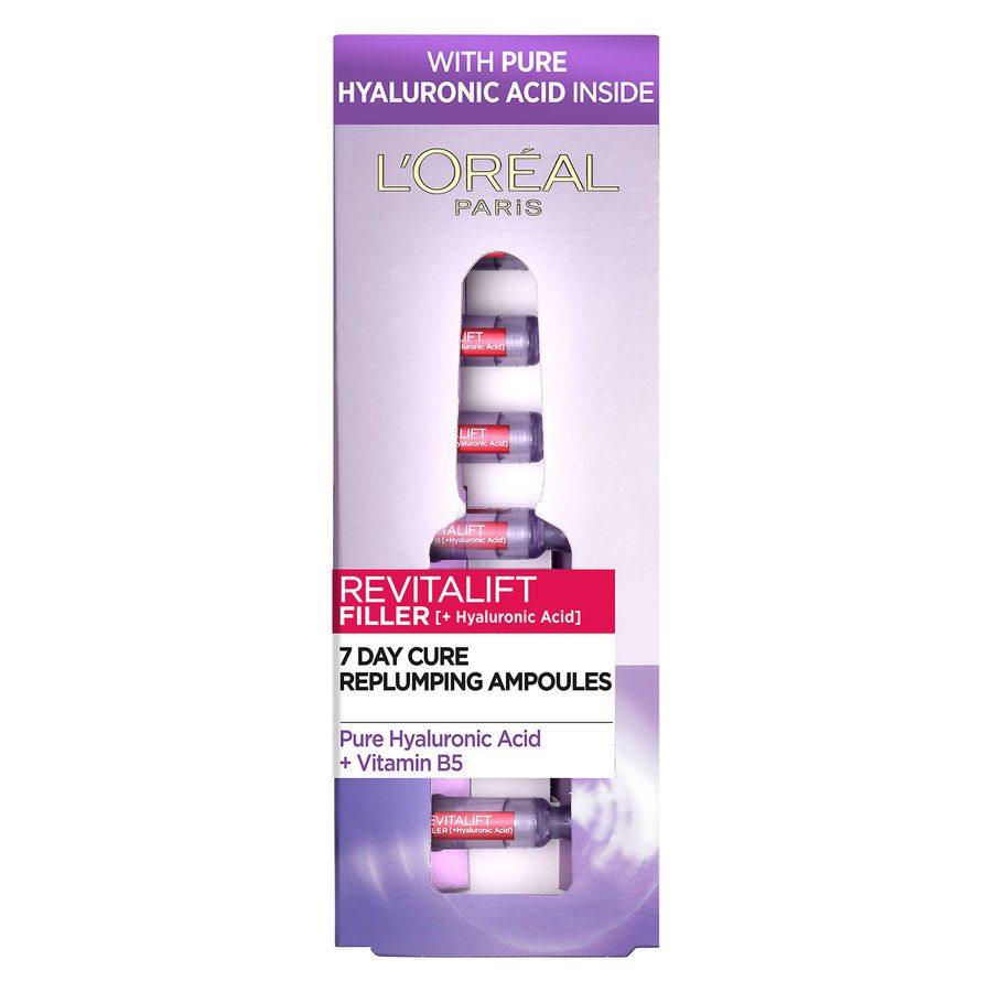L'Oréal Paris Revitalift Filler Vials Hyaluronic Acid (7x1,3 ml)