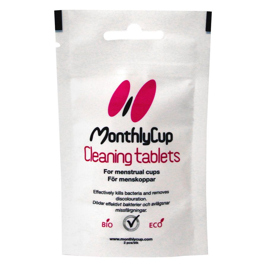 MonthlyCup Cleaning Tablets (2 Stück)