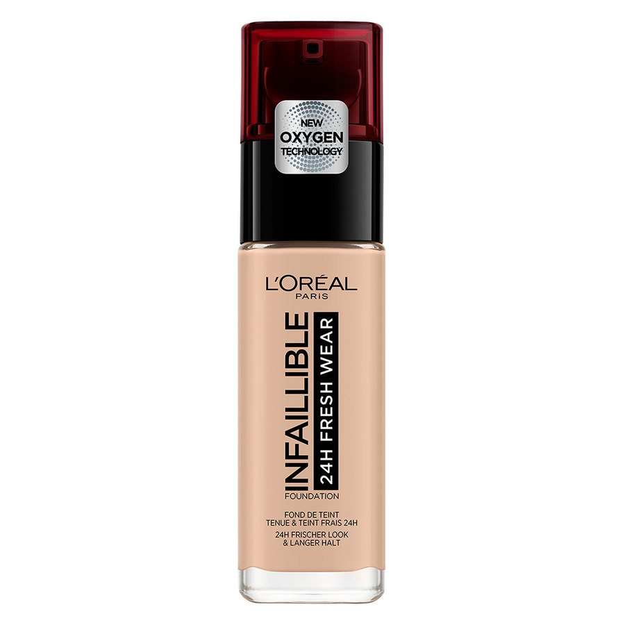 L'Oréal Paris Infaillible 24H Fresh Wear Foundation, #110 Rose Vanilla 30 ml
