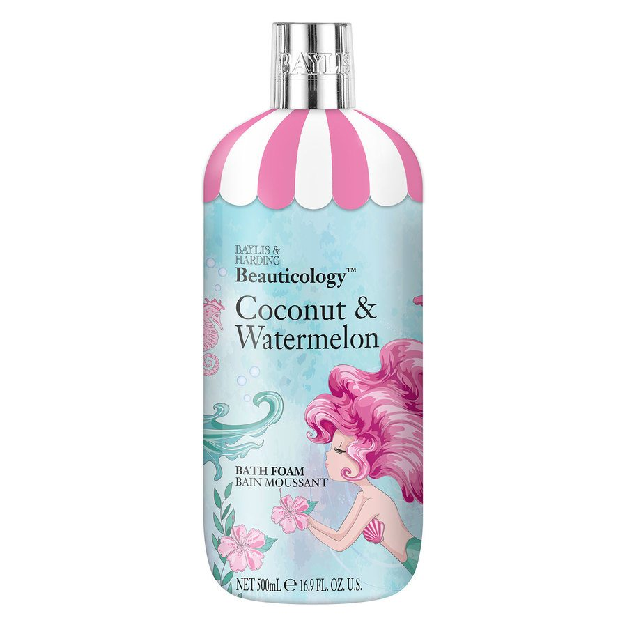 Baylis & Harding Beauticology Mermaid Coconut & Watermelon Bath Foam (500 ml)