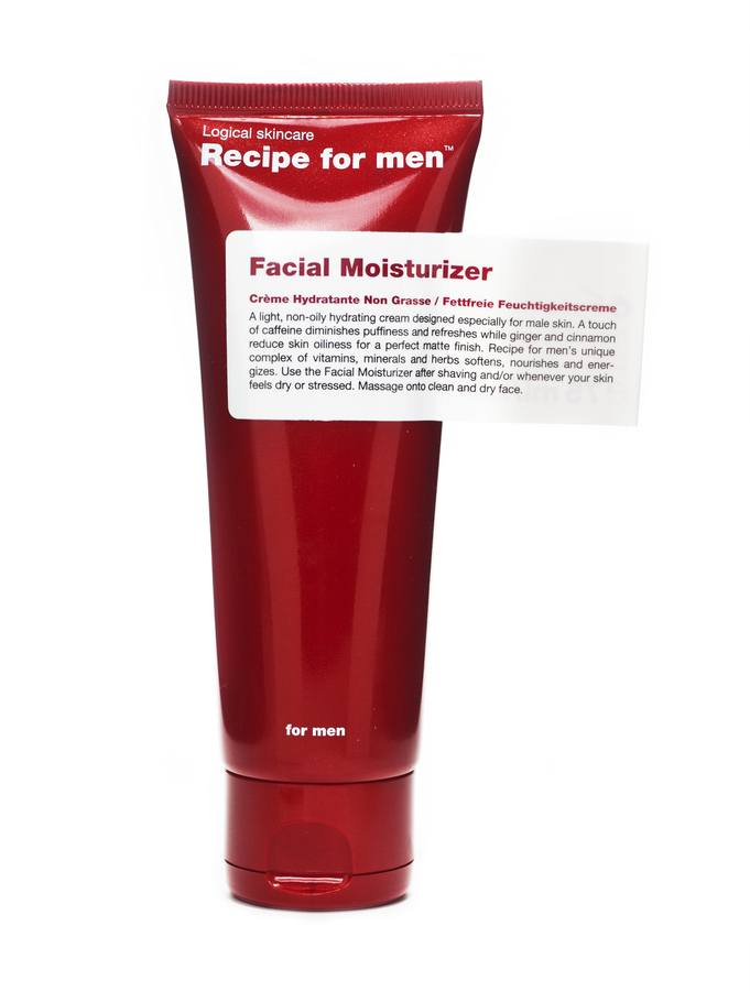Recipe For Men Facial Moisturizer Feuchtigkeitscreme (75 ml)