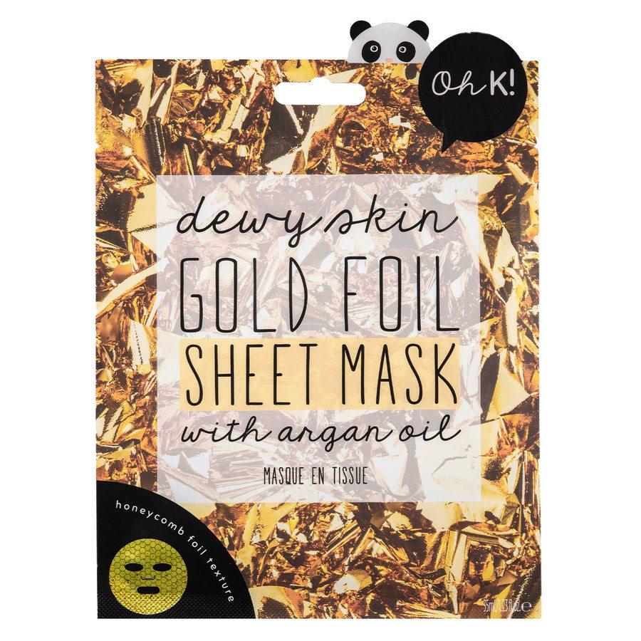 Oh K! Gold Foil Sheet Mask (35 ml)