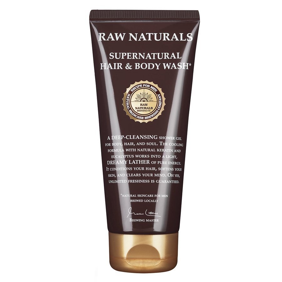 Raw Naturals Supernatural Hair & Body Wash (200 ml)
