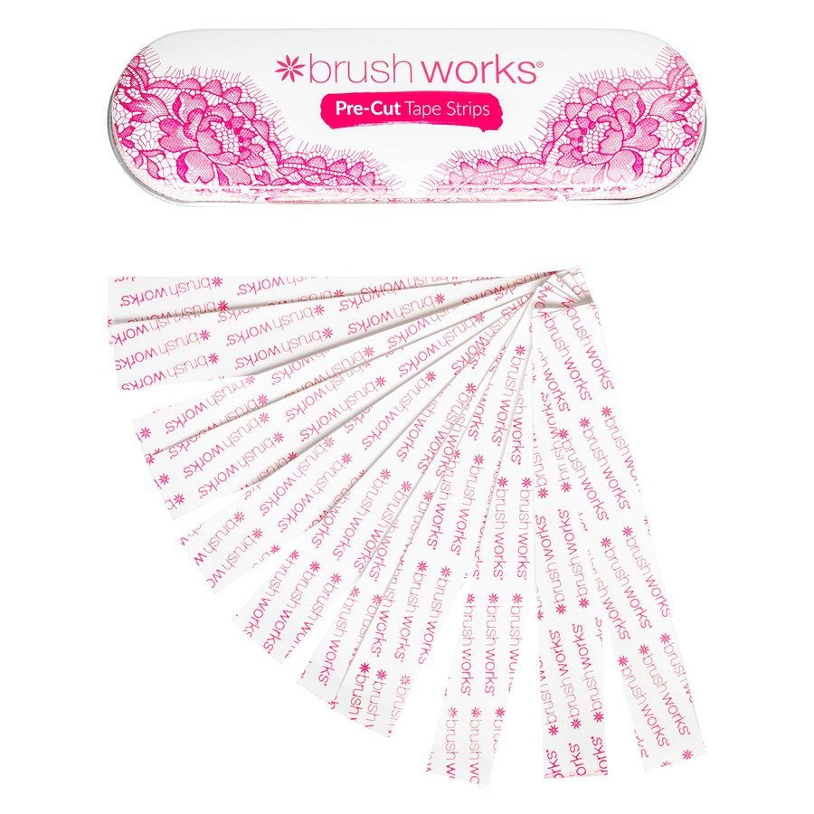 Brush Works Pre-Cut Dress Tape Strips, Tin