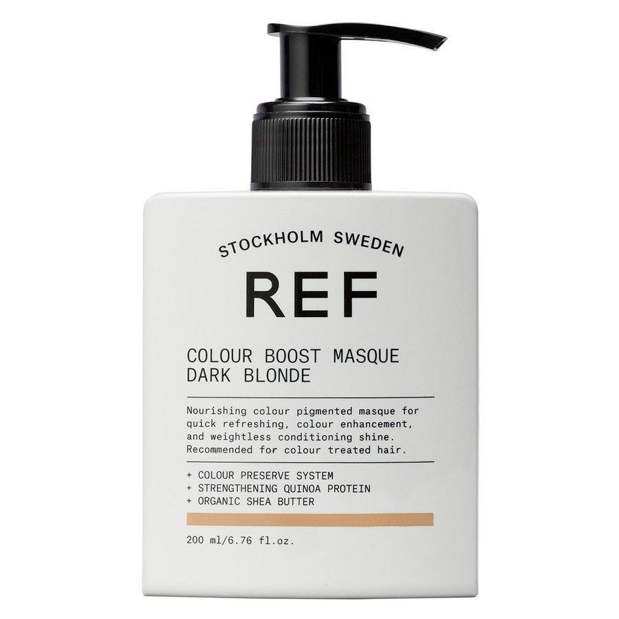 REF Colour Boost Masque, Dark Blonde (200 ml)