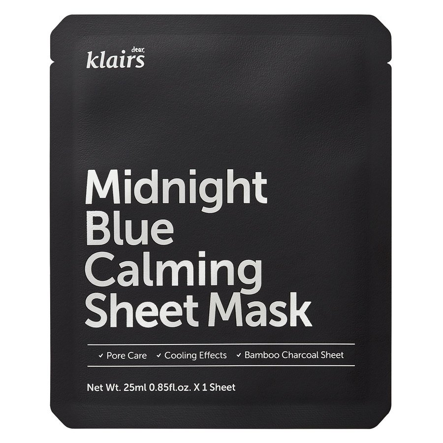 Klairs Midnight Blue Calming Sheet Mask (25 ml)