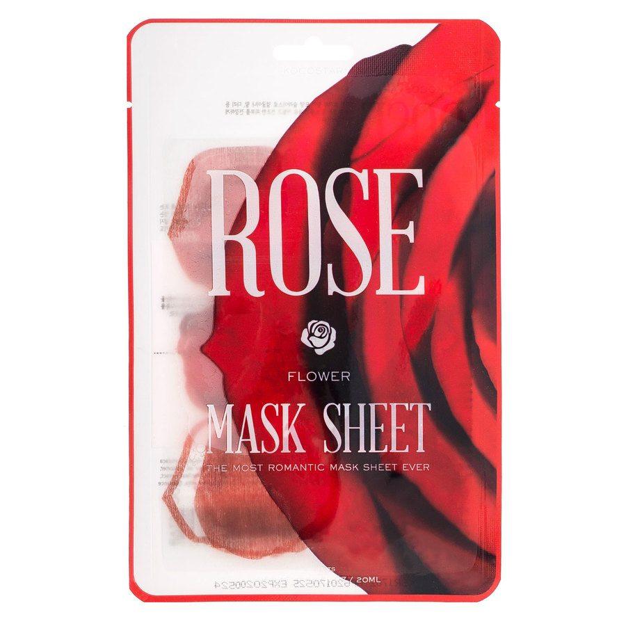 Kocostar Slice Mask Sheet, Rose Flower