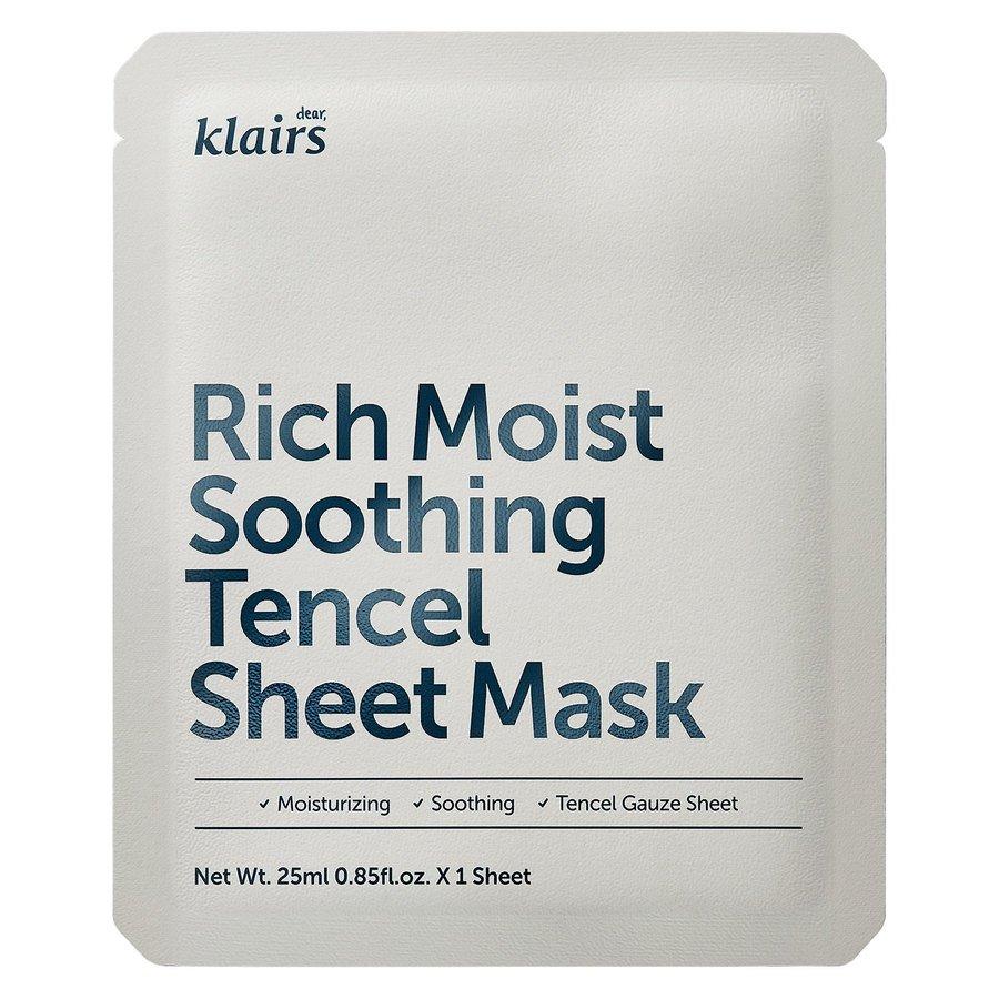 Klairs Rich Moist Soothing Tencel Sheet Mask (25ml)