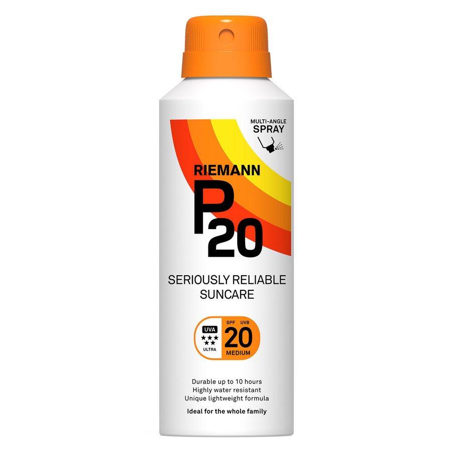 Riemann P20 Continuous Spray, SPF 20 (150ml)