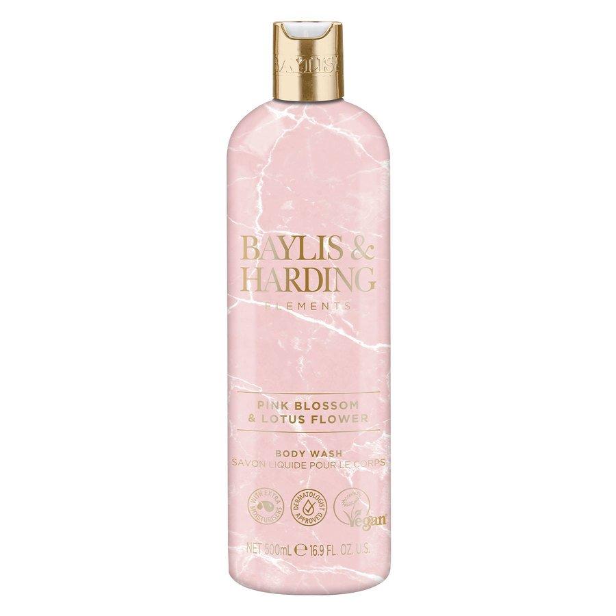 Baylis & Harding Elements Pink Blossom & Lotus Flower Body Wash 500ml