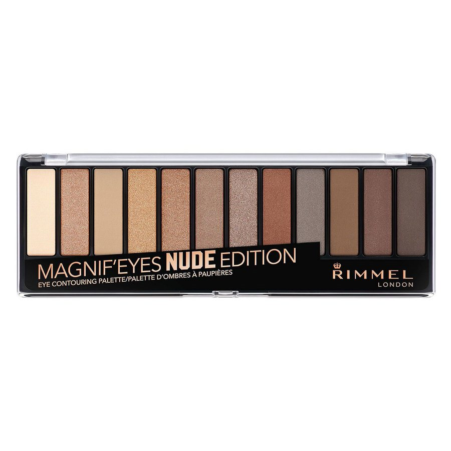Rimmel London Magnif'eyes Eye Palette, Nude Edition (14 g)