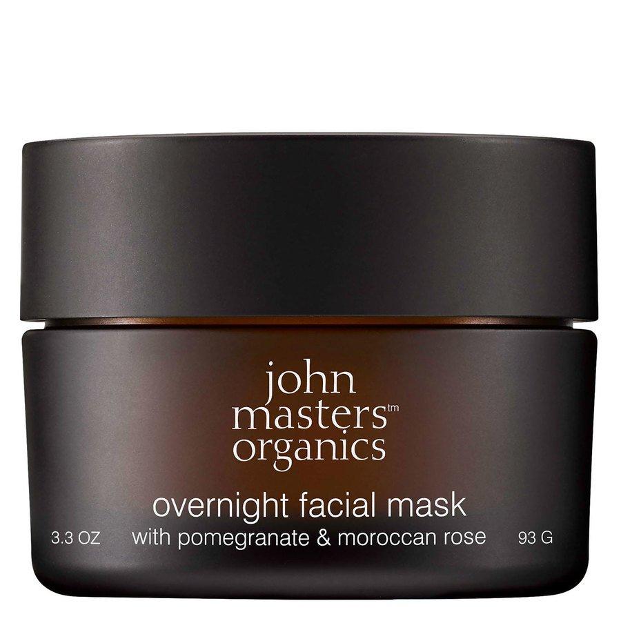 John Masters Organics Overnight Facial Mask With Pomegranate & Moroccan Rose (93 g)