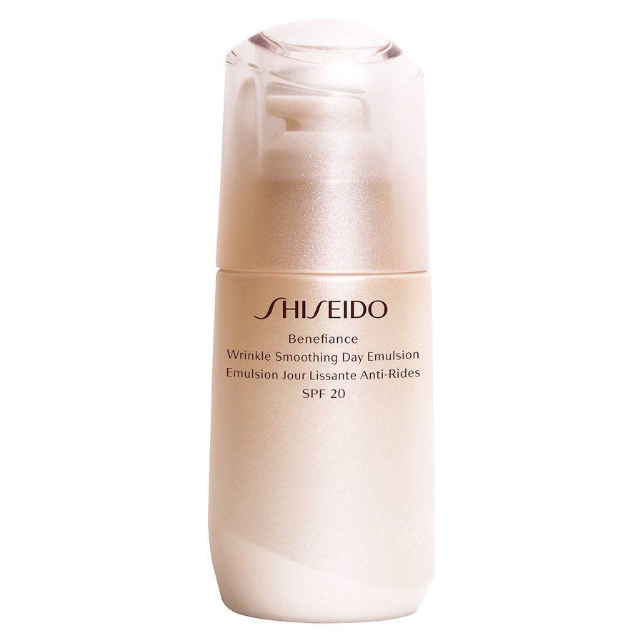 Shiseido Benefiance Wrinkle Smoothing Day Emulsion SPF20 (75 ml)