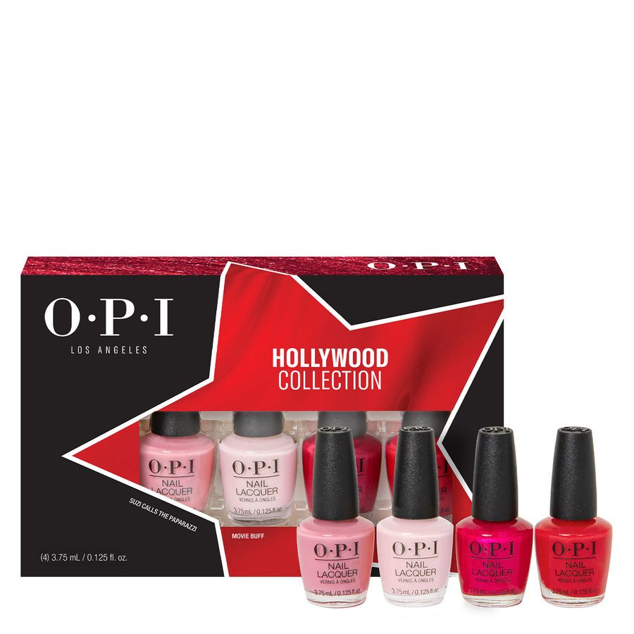 OPI Hollywood Collection Nail Lacquer, DCH60 Mini-Pack 4x3,75ml