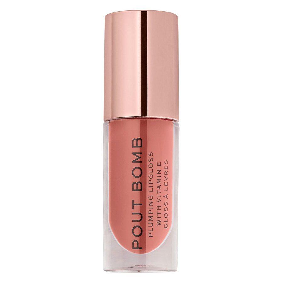 Makeup Revolution Pout Bomb Plumping Gloss, Kiss (4,8 ml)