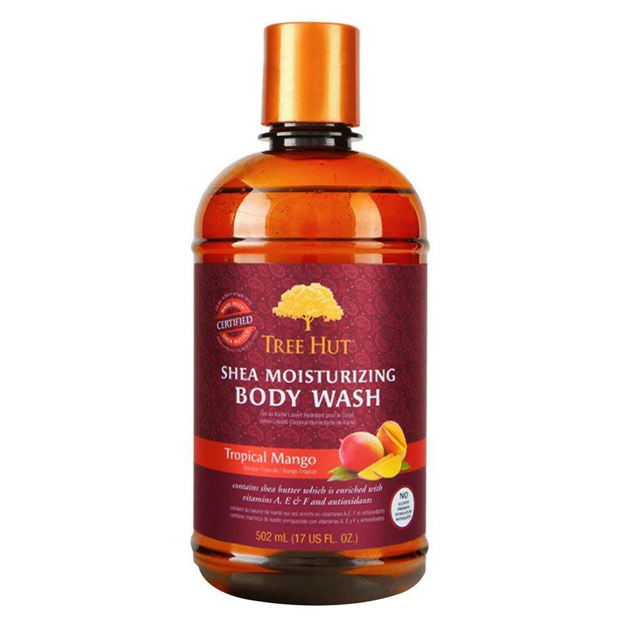 Tree Hut Shea Moisturizing Body Wash, Tropical Mango 503 ml