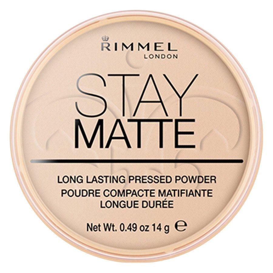 Rimmel Stay Matte Pressed Face Powder, Peach Glow 003 (14 g)