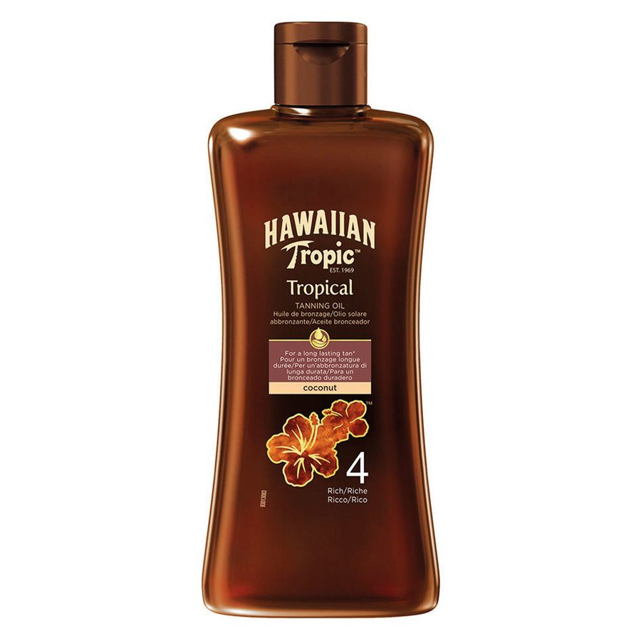 Hawaiian Tropic Tan Oil, Rich (200 ml)