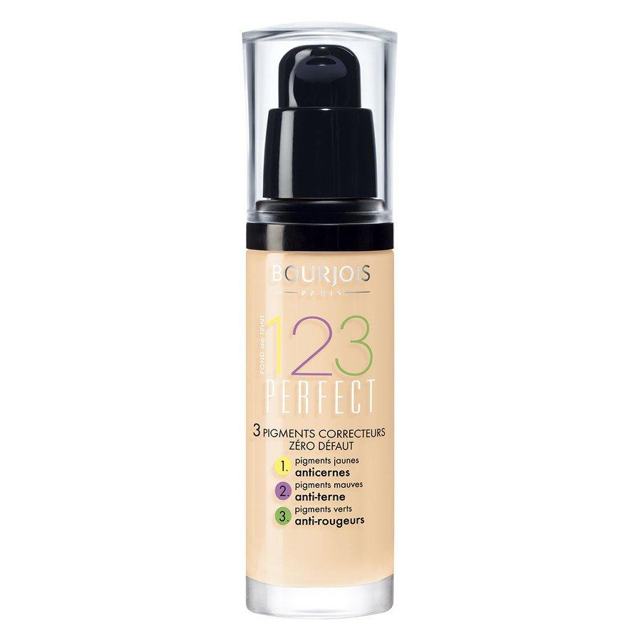 Bourjois 1,2,3 Perfect Foundation, 51 Light Vanilla (30 ml)