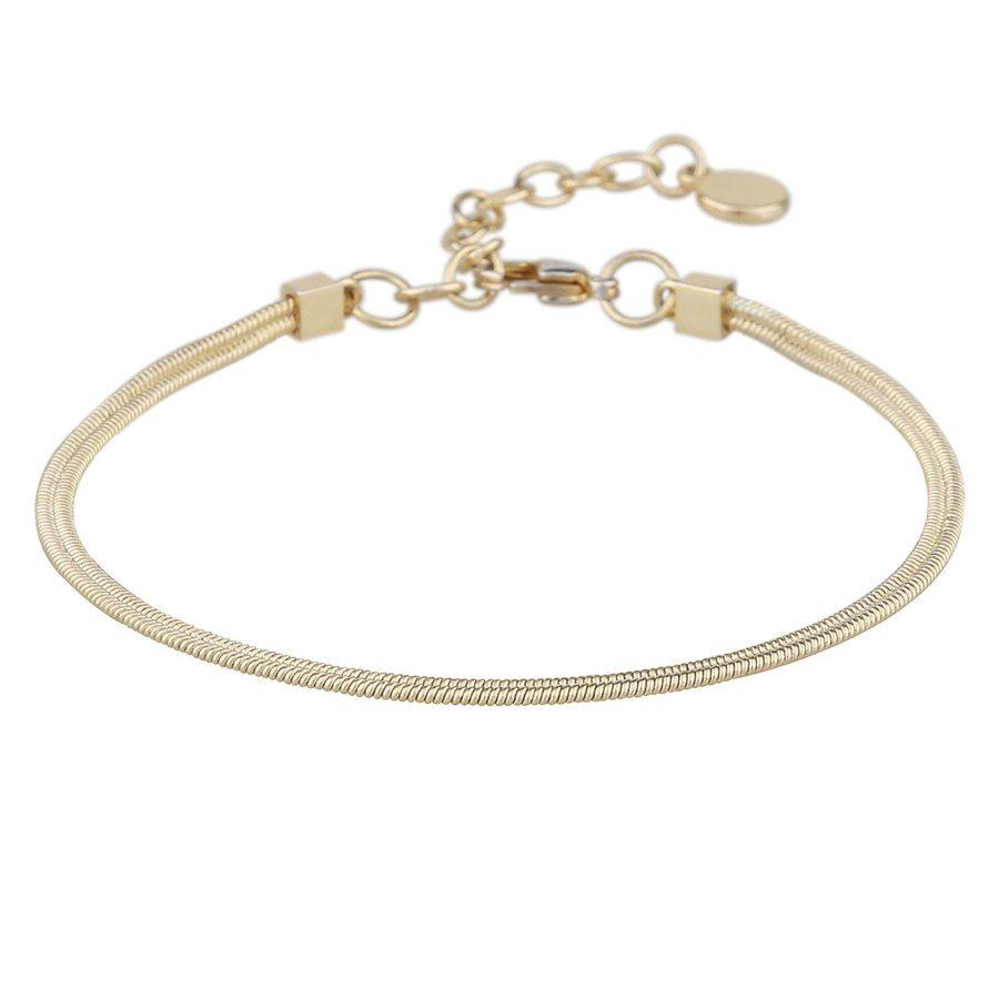 Snö Of Sweden Chase Charlize Bracelet, Plain Gold