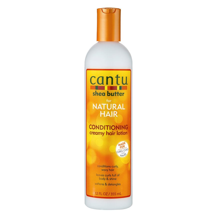 Cantu Shea Butter For Natural Hair Conditioning Creamy Hair Lotion (355ml)