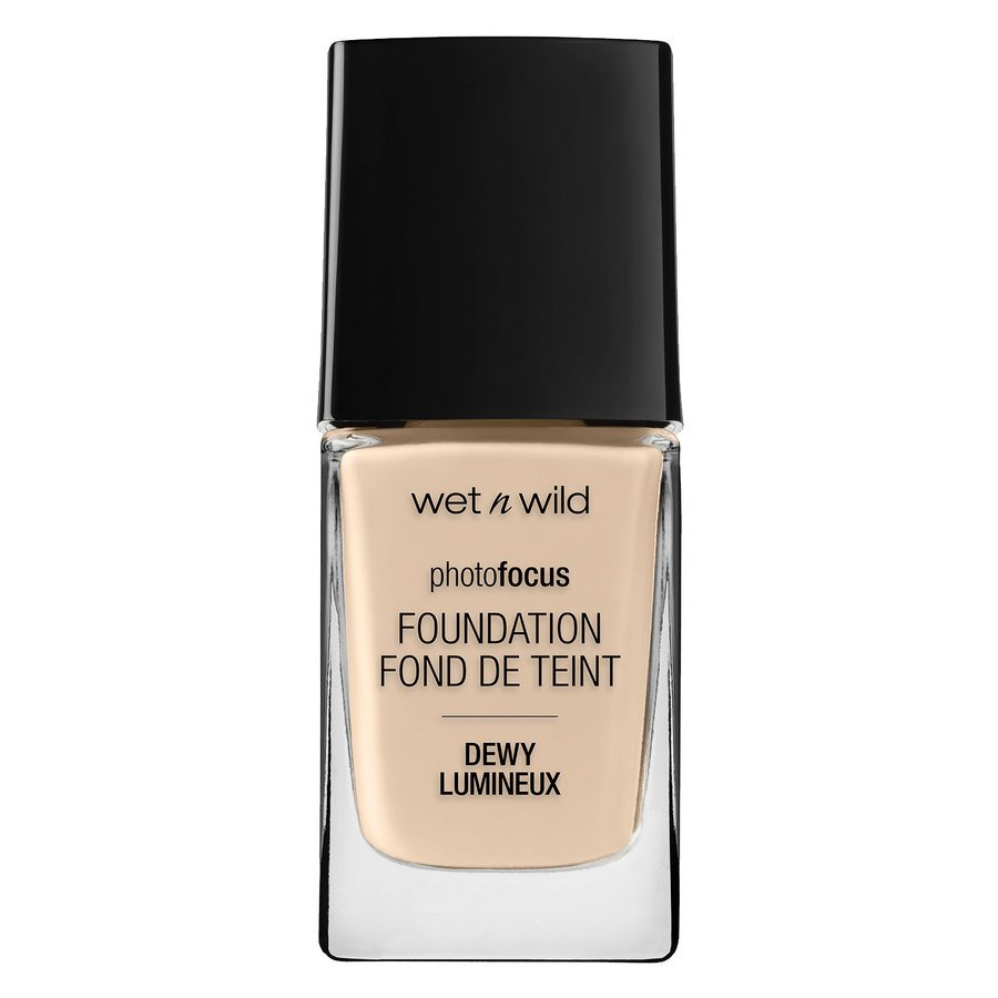 Wet'n Wild Photo Focus Dewy Foundation, Nude Ivory (28 ml)