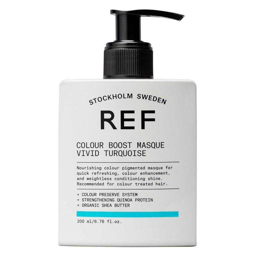 REF Colour Boost Masque, Vivid Turquoise (200 ml)