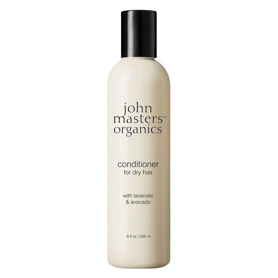 John Masters Organics Lavender & Avocado Conditioner For Dry Hair (236ml)