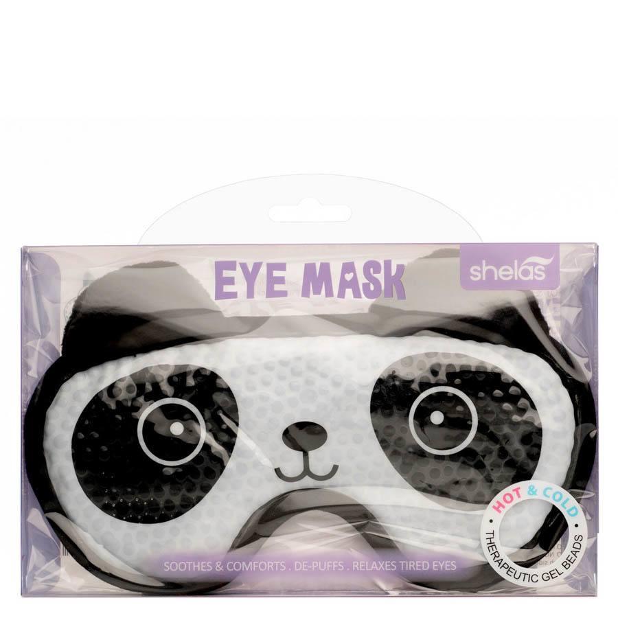 Shelas warme / kalte Augenmaske mit Gel-Perlen, Panda