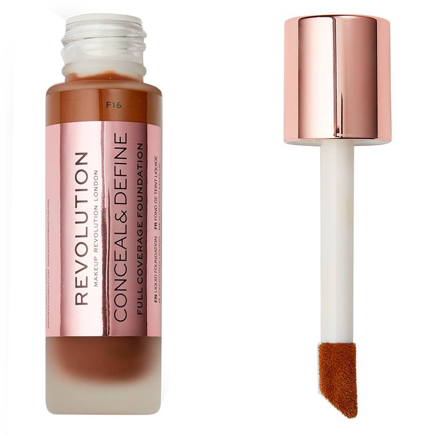Makeup Revolution Conceal & Define Foundation F16 23ml