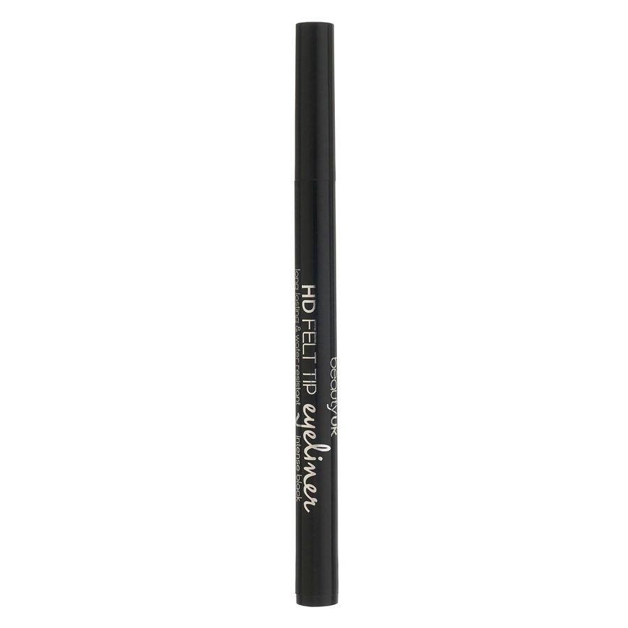 Beauty UK HD Felt Tip Eyeliner, Black 1 g