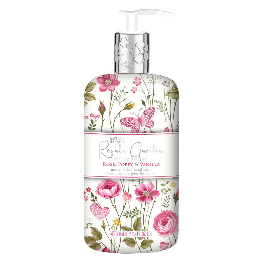 Baylis & Harding Royale Garden Rose, Poppy & Vanilla Hand Wash 500 ml