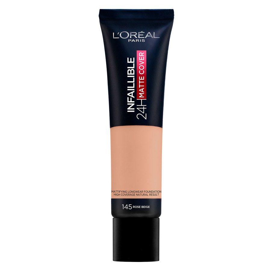 L'Oréal Paris Infaillible 24H Matte Cover 30 ml - 145 Rose Beige